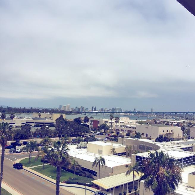 coronado hotel view
