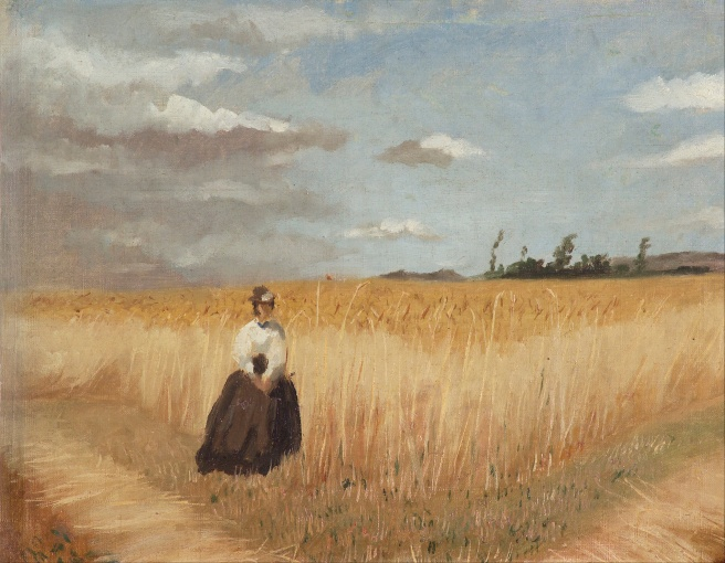 Luis_Astete_y_Concha_-_Woman_in_wheat_field_-_Google_Art_Project