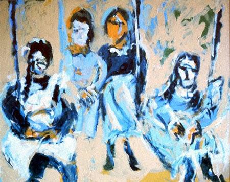 Forsyth, four sisters, 1972