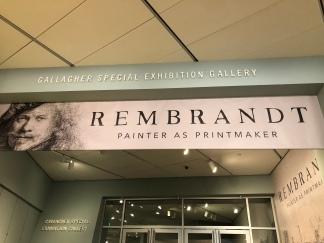 Rembrandt Exhibition. Denver Art Museum. Denver, Colorado. October 2018. Photo by JAH.