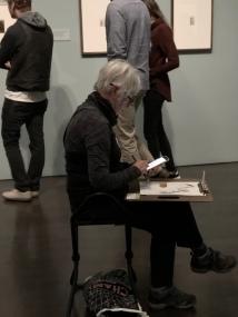 Sketchers. Denver Art Museum. Denver, Colorado. October 2018. Photo by JAH.