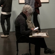 Sketchers. Denver Art Museum. Denver, Colorado. October 2018. Photo by JAH.