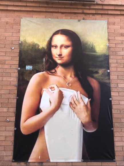 And Mona almost got naked. A weekend in Pueblo, Colorado. Photo by JAH. October 2018.